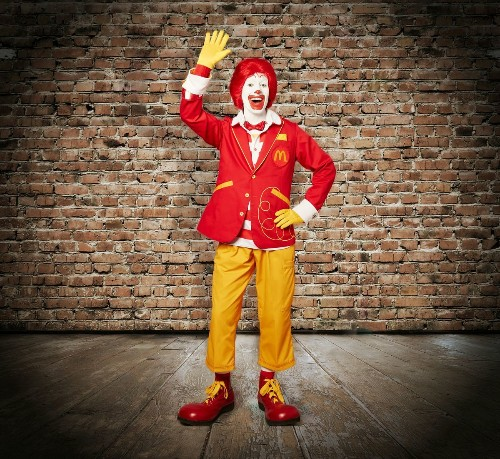 Ronald McDonald gets new outfit, takes on Twitter. Still creepy?