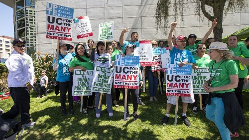 UC Irvine workers join one-day strike alleging workplace retaliation