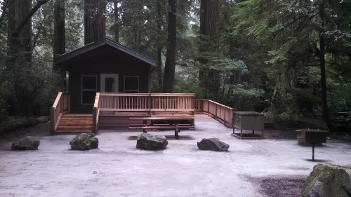 New rustic cabins add to camping options at three Northern California state parks - Los Angeles Times