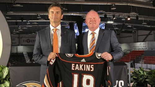 Ducks confident Dallas Eakins will excel in second stint as an NHL head coach
