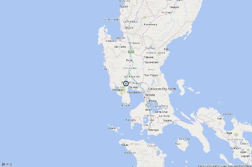 Strong earthquake shakes areas north of Philippine capital