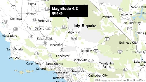 Aftershocks keep rattling: More than 70 measuring 4.0+ since Ridgecrest earthquakes