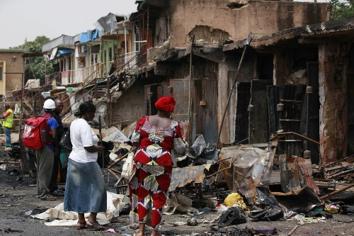 Nigeria bombing: 'People are dying every day.... We are not safe'