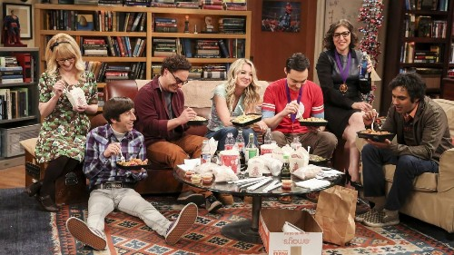 'Big Bang Theory' cast dishes on finale and shares show secrets with Colbert