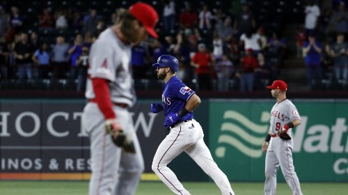 Rangers' Joey Gallo keeps feasting on Angels pitchers