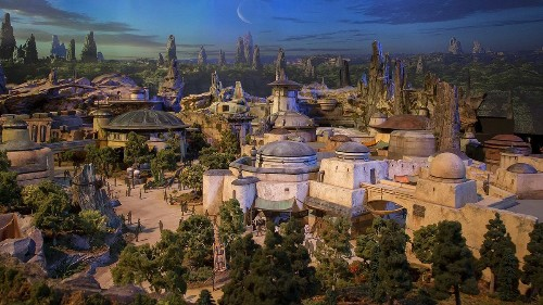 First visitors to Disney's Star Wars land will get just four hours to see it all