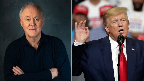 Mueller report as theater: John Lithgow to portray Trump in new play