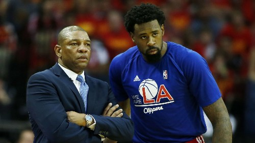 Clippers' DeAndre Jordan faces criticism, but not from Doc Rivers