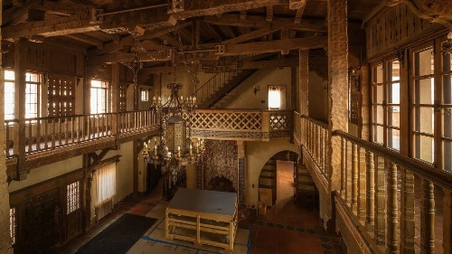 Get an early peek at Death Valley's flood-damaged Scotty's Castle