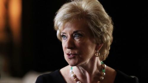 Linda McMahon, former pro wrestling and SBA exec, will run Trump 2020 PAC, report says