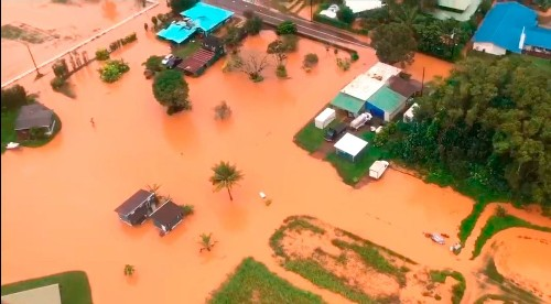 A Hawaiian island got about 50 inches of rain in 24 hours. Scientists warn it's a sign of the future - Los Angeles Times