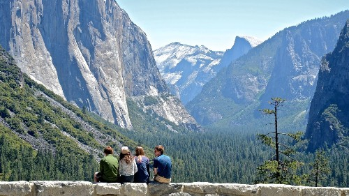 Amid government shutdown, Yosemite National Park is open with limited services