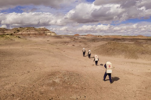 Life on Mars gets a test run in the Utah desert