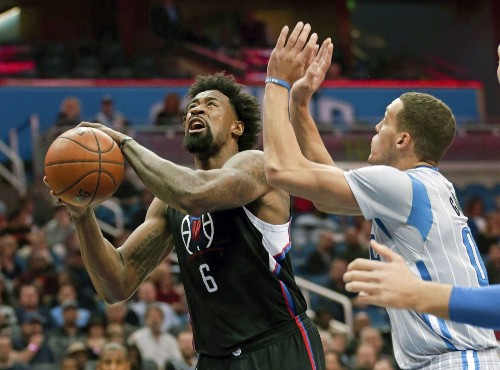 Clippers' DeAndre Jordan is getting efficient with hook shots - Los Angeles Times