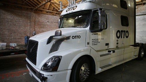 An executive departs Uber's self-driving truck unit, adding to the company's turmoil
