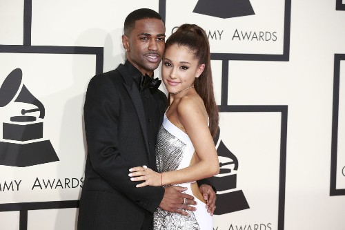 Ariana Grande kisses Big Sean onstage in Detroit, takes a tumble in Toronto - Los Angeles Times