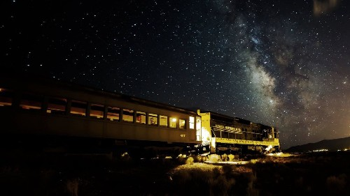 Nevada's Star Train takes visitors into the dark on a stargazing adventure