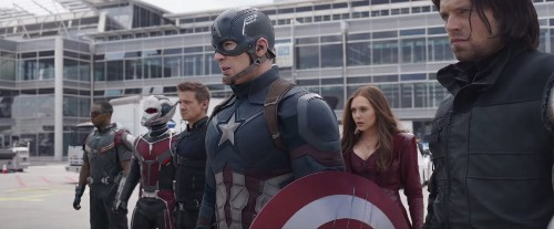 'Captain America: Civil War' footage turns America's hero into a wanted man