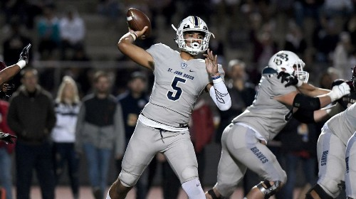 St. John Bosco's DJ Uiagalelei is aiming to be the No. 1 prospect of the 2020 recruiting class