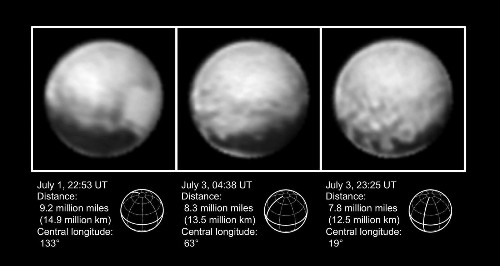Computer glitch doesn't stop New Horizons: Pluto encounter almost a week away - Los Angeles Times