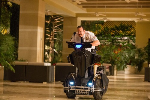 'Paul Blart: Mall Cop 2' might work if it was actually funny