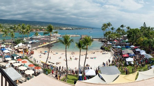 Enjoy craft beer (72 kinds) and the beach at this Hawaii Island festival
