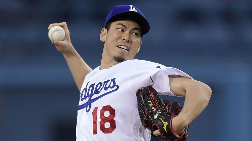 Dodgers' Kenta Maeda to start against the Pirates on Sunday