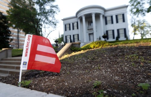 Mississippi law opens a new front in the battle over gay rights
