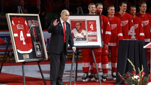 Red Kelly, NHL Hall of Famer and first coach of the Kings, dies at 91