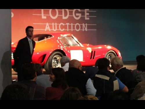 '62 Ferrari 250 GTO sells for record $38 million at Monterey Car Week - Los Angeles Times
