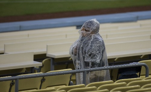 Rain, at times heavy, hits parched L.A. area - Los Angeles Times