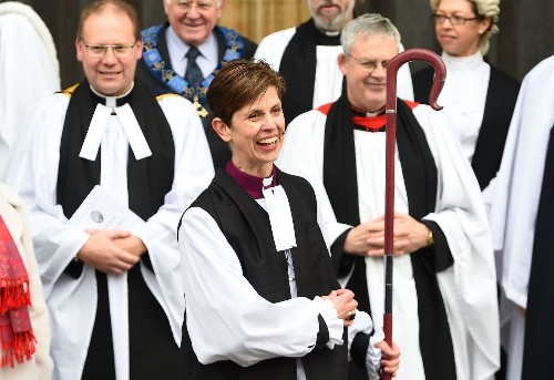 Church of England consecrates Libby Lane as its first female bishop