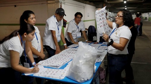 Guatemalan election headed for runoff in August