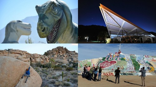 Design geeks and California desert rats, this 12-stop program is for you