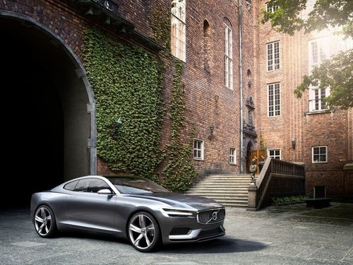 Volvo hints at its future with Concept Coupe