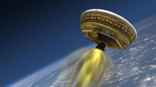 NASA to study supersonic parachute shredded in 'flying saucer' test