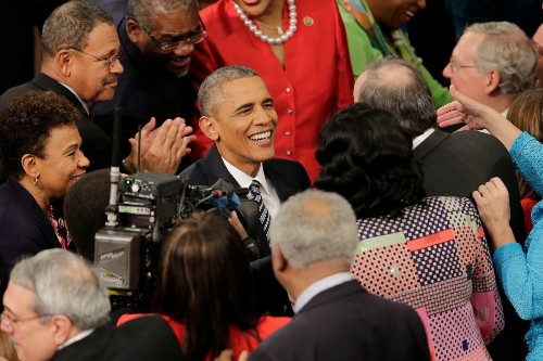 Looking to the future in his last State of the Union, Obama rekindles a familiar refrain: Hope - Los Angeles Times