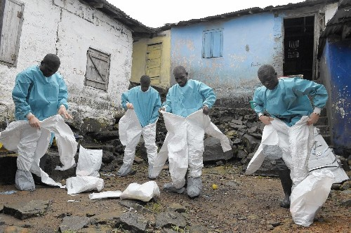 Health workers in Liberia's Ebola outbreak often ostracized