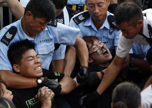 Police arrest 511 after Hong Kong democracy rally