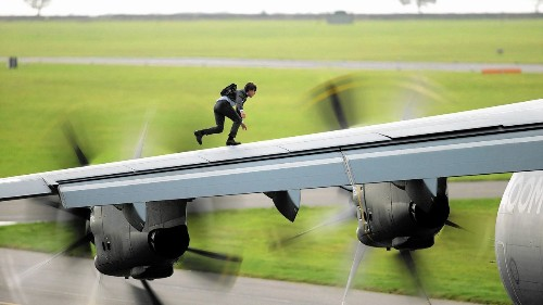 The 'Impossible' risks taken by high-flying Tom Cruise