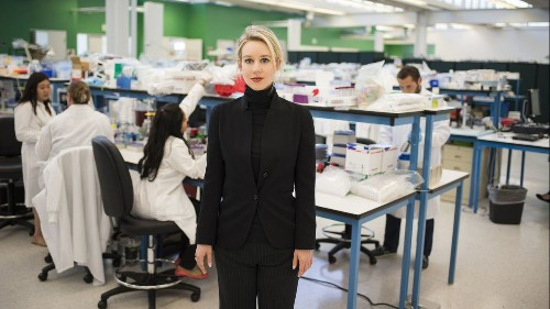 Review: 'The Inventor' is a coolly appalling portrait of Elizabeth Holmes and the Theranos scandal