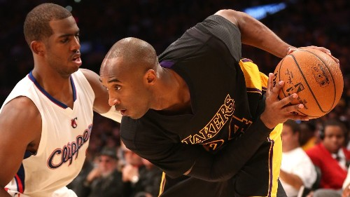 Kobe Bryant is shooting a lot as Lakers are slow to catch fire