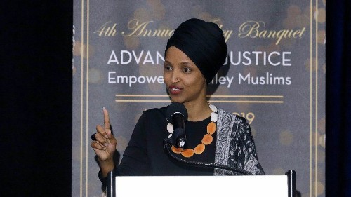 Rep. Ilhan Omar tells California audience that Trump's anti-Islam remarks inspire attacks like New Zealand sho