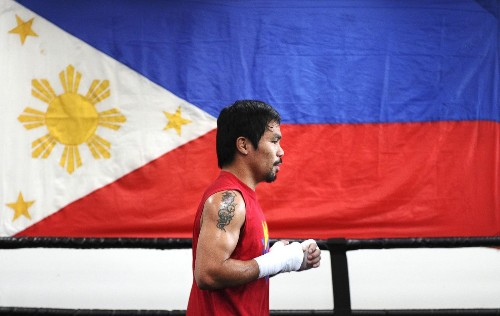 Manny Pacquiao's left-handed power might decide fight with Mayweather - Los Angeles Times