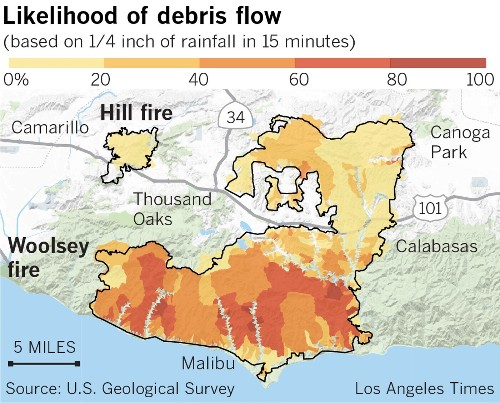 New storm triggers evacuations across Southern California - Los Angeles Times