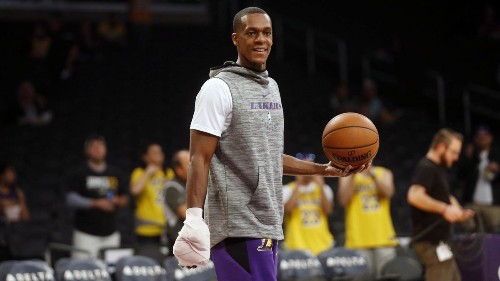 Lakers! Without Rajon Rondo, Lakers' ball movement has become less effective