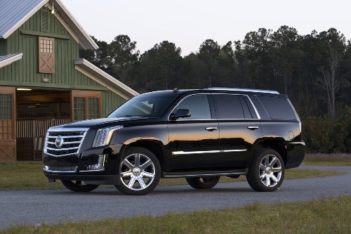 First Times Drive: Cadillac's 2015 Escalade can't hide humble roots