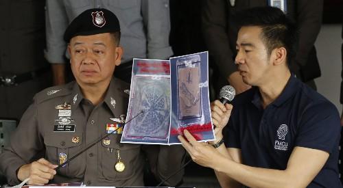 American tourist tries to ship Thai body parts