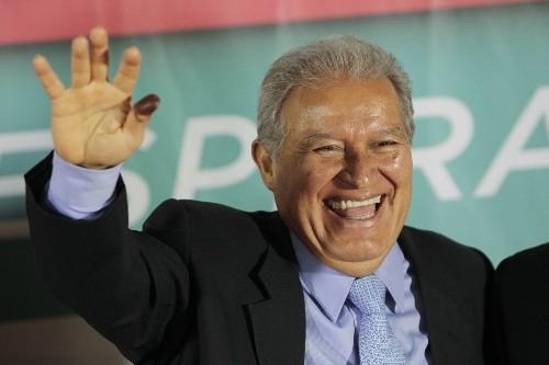Salvador Sanchez Ceren wins El Salvador's presidential election