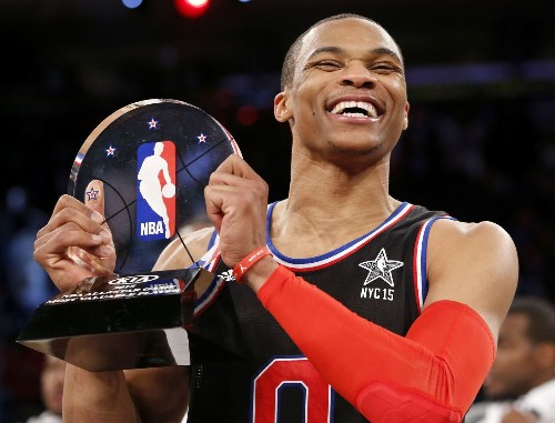 Russell Westbrook steals the show in All-Star game